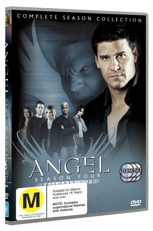Angel - Complete Season 4 (6 Disc Set) on DVD