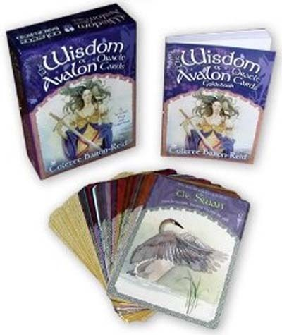 The Wisdom of Avalon Oracle Cards (Deck & Guidebook) by Colette Baron-Reid image