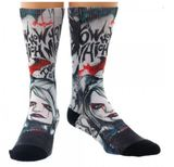 DC Comics - Batman Arkham Grafitti Sublimated Crew Socks