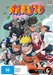 Naruto (Uncut) - Vol. 6: Chunin Challenge on DVD
