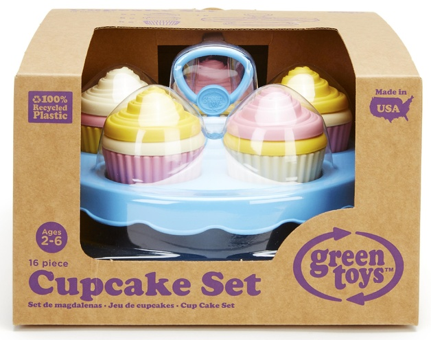 Green Toys Cupcake Set Toy At Mighty Ape Australia