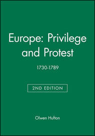Europe: Privilege and Protest by Olwen Hufton image