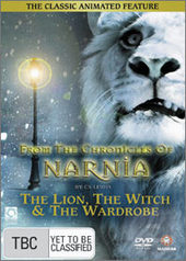Lion, The Witch And The Wardrobe (Animated) on DVD