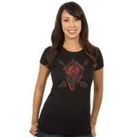 World of Warcraft Horde Coat of Arms Women's Tee (Large)