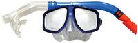 Land And Sea: Atoll Mask And Snorkel - Blue/Orange
