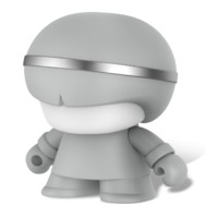 "Xoopar Boy: 3"" Bluetooth Speaker - Grey"