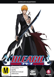 Bleach Shinigami - Collection 05 (Eps 168-217) on DVD