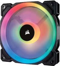 Corsair Ll Series LL120 RGB 120mm Dual Light Loop RGB LED PWM Fan — Single Pack