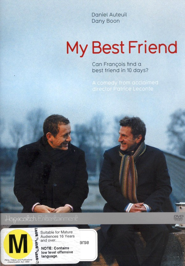 My Best Friend on DVD image