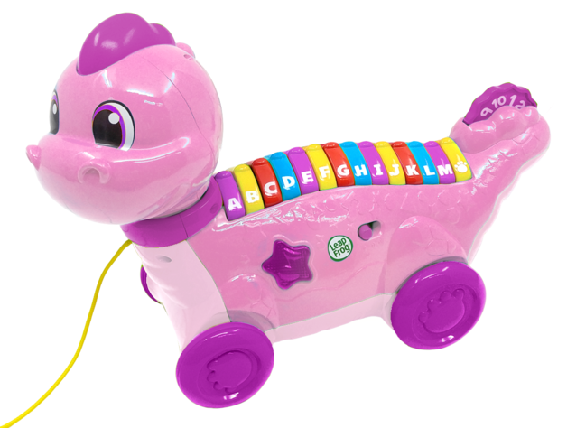 Leapfrog: Lettersaurus - Alphabet Pull Toy (Pink)