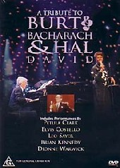 Burt Baccarach & Hal David - A Tribute To on DVD