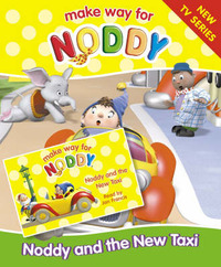 Noddy and the New Taxi: Complete & Unabridged by Enid Blyton image