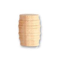 Artesania Latina Wooden Barrel 10x15mm x4