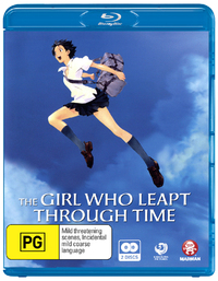 The Girl Who Leapt Through Time on Blu-ray
