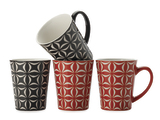 Maxwell & Williams Graphique Mug Set of 4 - Star (360ml)