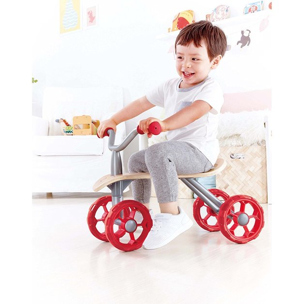 Hape: Trail Rider - Four wheeled scooter