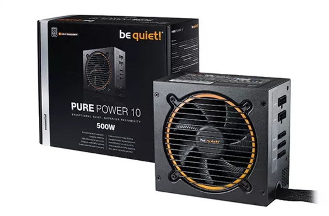 500W Be Quiet! Pure Power 10 image