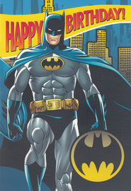 Hallmark: Interactive Birthday Card - Batman