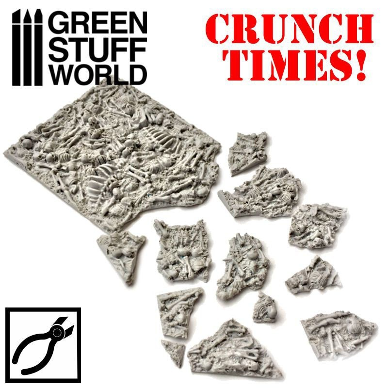 Green Stuff World - Broken Bones Plates- Crunch Times image