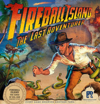 Fireball Island the Curse of Vul-Kar: The Last Adventurer Expansion