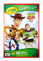 Crayola: Giant Colouring Pages - Toy Story 4