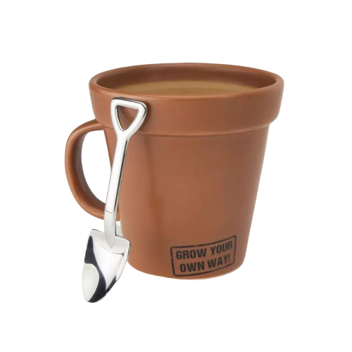 Grow Your Own Way: Mug and Teaspoon