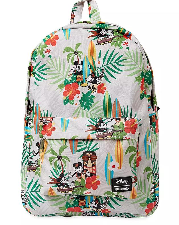 Loungefly: Mickey Mouse - Mickey Hawaii Print Backpack