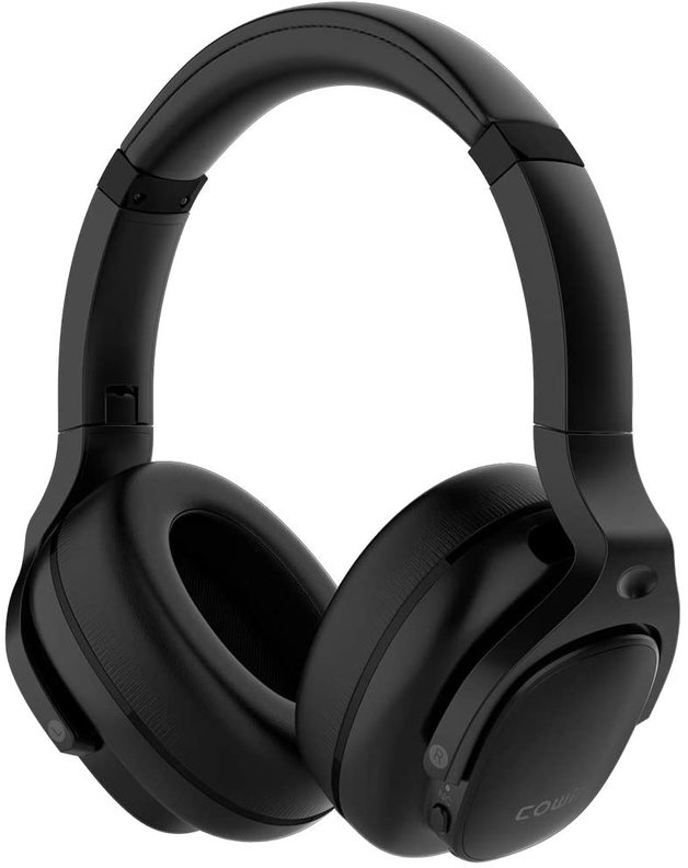 Cowin: E9 Active Noise Cancelling - Wireless Bluetooth Headphones (Black)