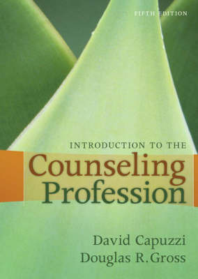 Introduction to the Counseling Profession by Dave Capuzzi image