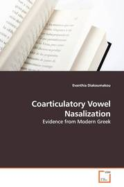 Coarticulatory Vowel Nasalization by Evanthia Diakoumakou image
