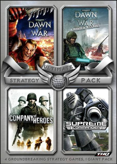 Ultimate Strategy Pack (4 games) for PC Games