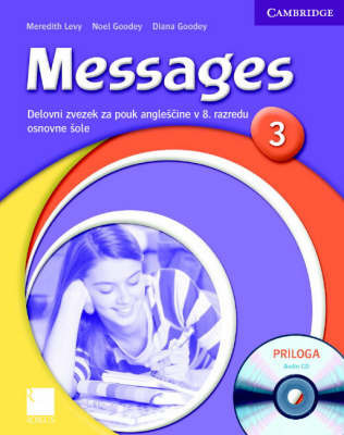 Messages 3 Workbook with Audio CD Slovenian Edition: Level 3 by Diana Goodey