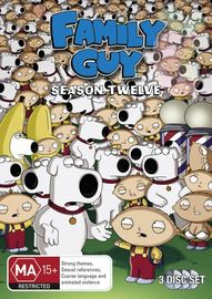 Family Guy - Season Twelve on DVD image