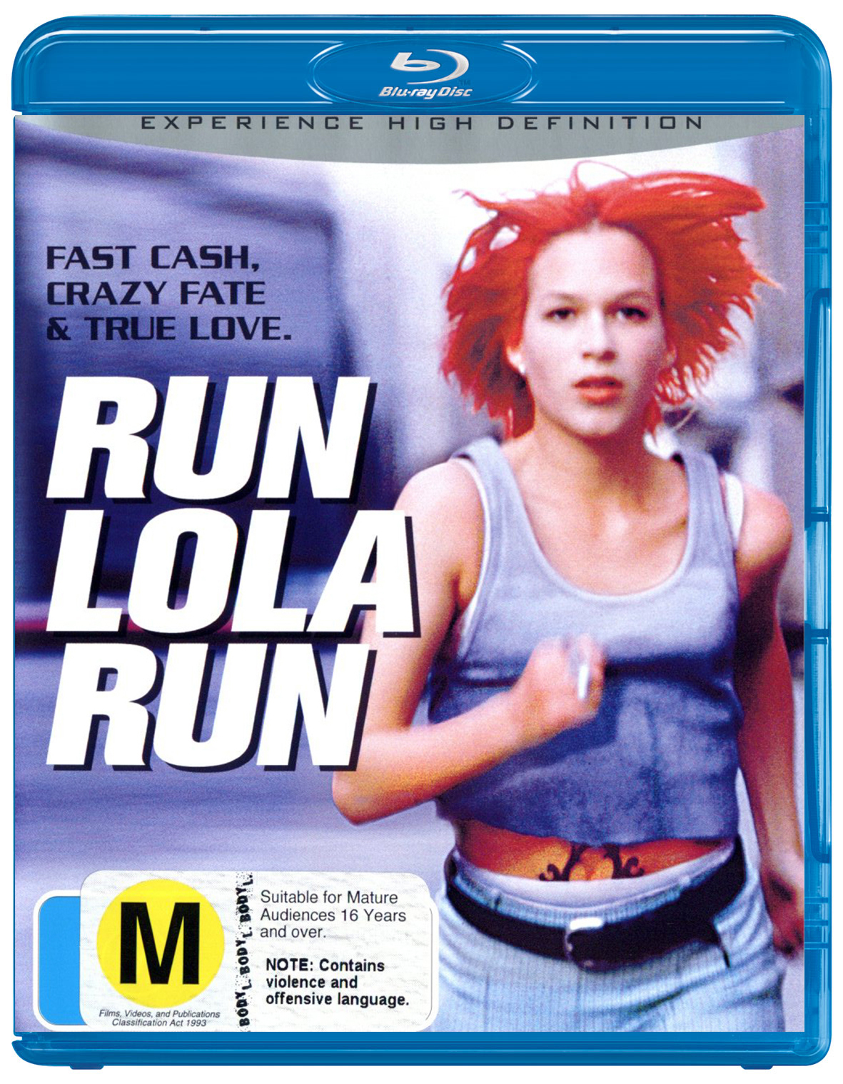 Run Lola Run on Blu-ray image