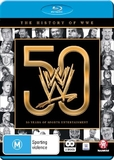 WWE: The History Of WWE: 50 Years Of Sports Entertainment on Blu-ray