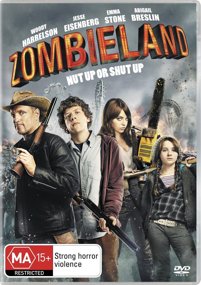 Zombieland on DVD image