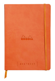 Rhodiarama A5 Goalbook Dot Grid - Tangerine