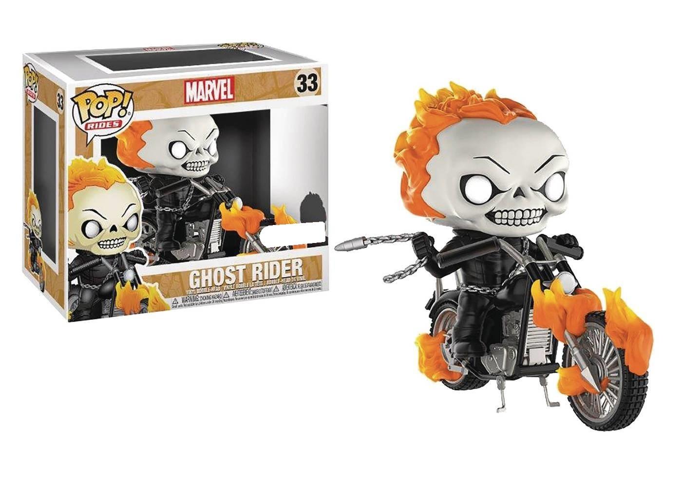 Marvel - Ghost Rider Pop! Rides Set image