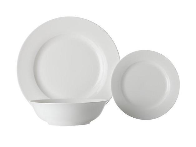 Maxwell & Williams White Basics European Rim Dinner Set