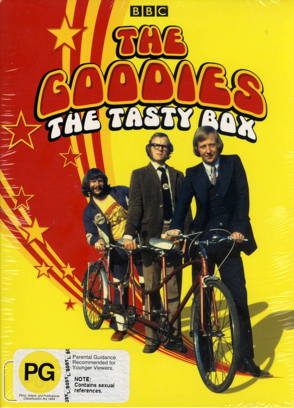 The Goodies - Tasty Box (4 Disc) on DVD image