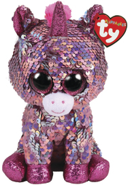 TY Beanie Boo: Flip Sparkle Unicorn - Small Plush