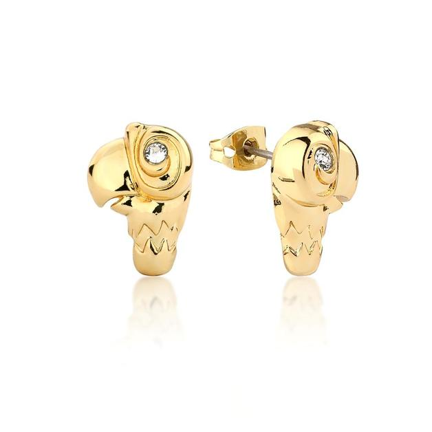 Couture Kingdom: Disney - Mary Poppins Parrot Stud Earrings (Yellow Gold)