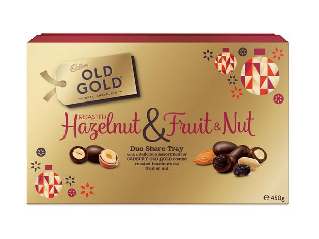 Cadbury Old Gold Roasted Hazelnut & Fruit & Nut (450g)