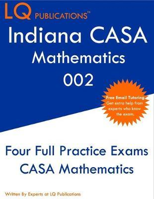 Indiana CASA Mathematics 002 by Lq Publications image
