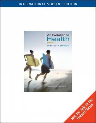 An Invitation to Health: With Personal Health Self Assessments by Dianne Hales image