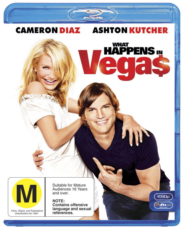 What Happens In Vegas on Blu-ray