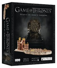 Game of Thrones: Kings Landing - 4D Cityscape Puzzle (260c)
