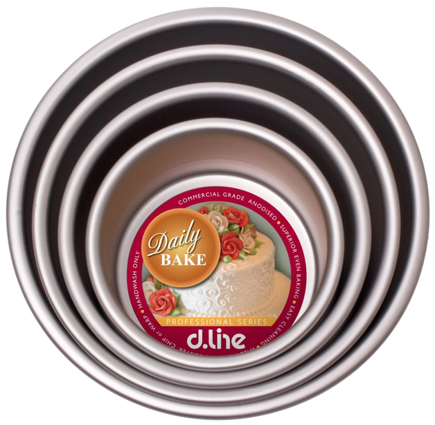 Anodised Deep Round Cake Pan (17.5cm x 7.5cm)