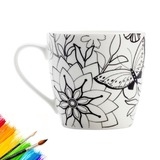 Maxwell & Williams: Mindfulness Mug - Butterflies (470ml)