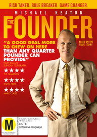 The Founder on DVD image